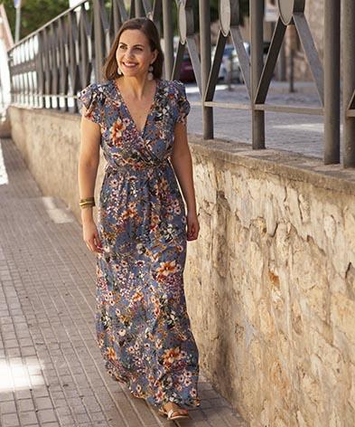 a2c8c2781e2c Vestido largo flores